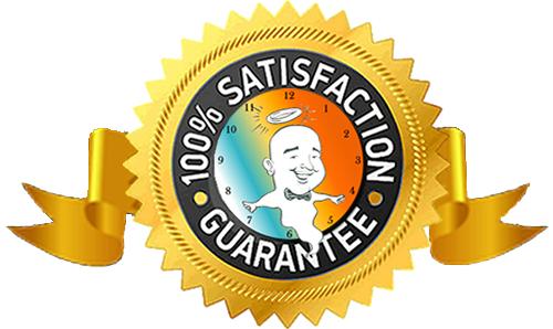 The Ghost Machine Satisfaction Guarantee